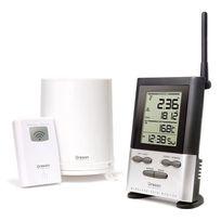 Oregon Scientific - pluviomètre et thermomètre sans fil portée 100m - rgr126