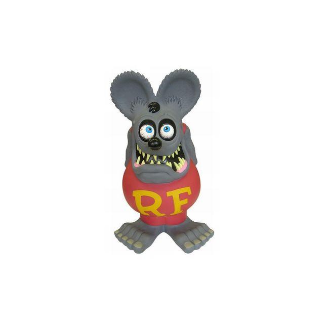 Universel Tirelire rat fink 60cm gris Rare