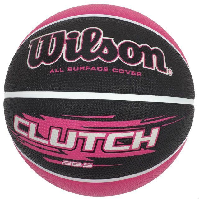 b8994b116b15f Wilson - Ballon de basket Clutch 258 taille 6 Rose 83523 - pas cher Achat /  Vente Ballons basket - RueDuCommerce