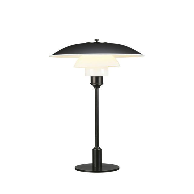 Louis Poulsen Lampe de Table Ph 3½-2½ - noir