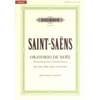 Edition Peters - Partitions Classique Saint-saens Camille - Oratorio De Noel Op.12 - Mixed Choir par 10 Minimum, Choeur Et Ensemble Vocal
