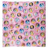 Hoomark - Papier cadeau princesse - 200 x 70 cm Rose clair