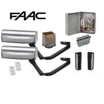 FAAC - Motorisation portail 2 battants -Magnum-Kit 24V-105660146