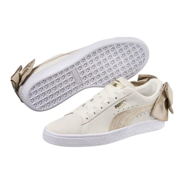 chaussure femme puma suede