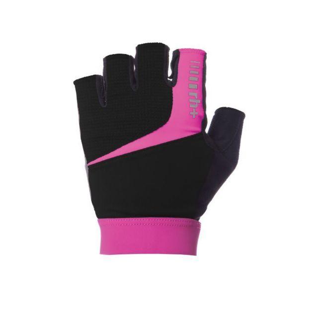 Zerorh Zero Rh Prime Glove Noir Et Rose Gants Cyclisme