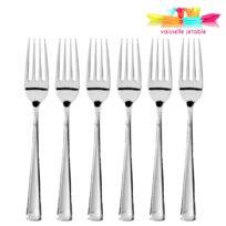 Vaisselle-jetable - 50 fourchettes jetables plastique argent