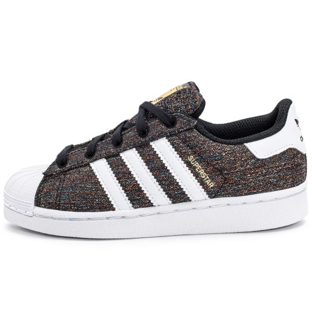 Adidas originals - Superstar Core Enfant Noire