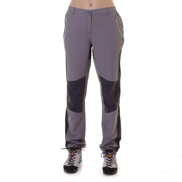 Pantalon de randonnée Sungari Femme 38 Fr, Gris Utrg3510