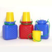 Sisval David - Gourdes plastique par 3 Rando 3/4 L