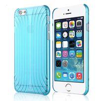 Baseus - Coque souple en gel bleu translucide pour iPhone 6 de 4,7 pouces