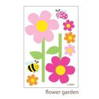 Forwalls - Sticker Mural Jardin Fleuri