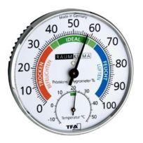 Tfa-Dostmann - Hygromètre de Précision Klimatest chrome