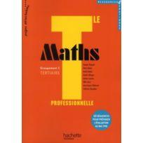 Hachette - maths ; terminale pro tertiaire ressources ; livre de l'élève