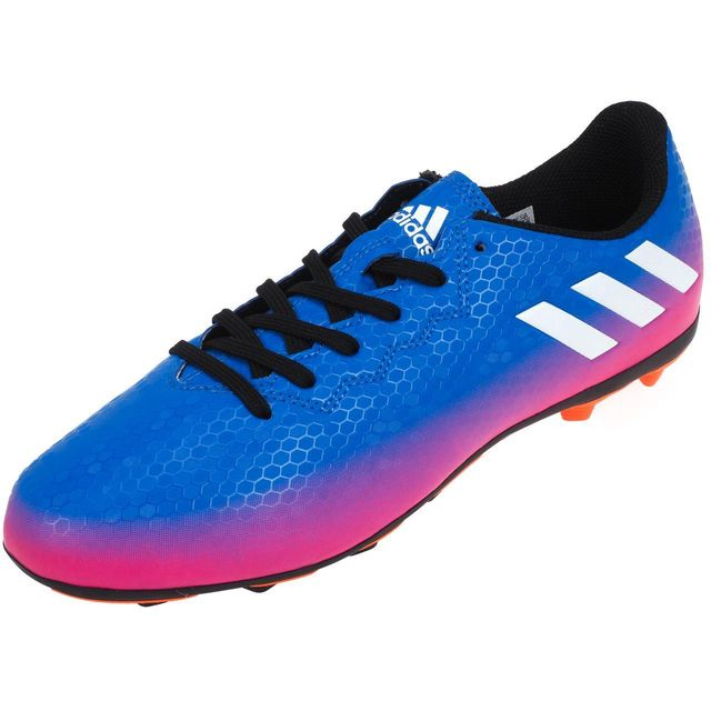 Jr 4 Chaussures 38838 Fxg 16 Lamelles Adidas Messi Bleu Football nHX6qnaY