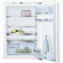Bosch - Réfrigérateur intégrable fixation de porte à pantographe KIR21AF30