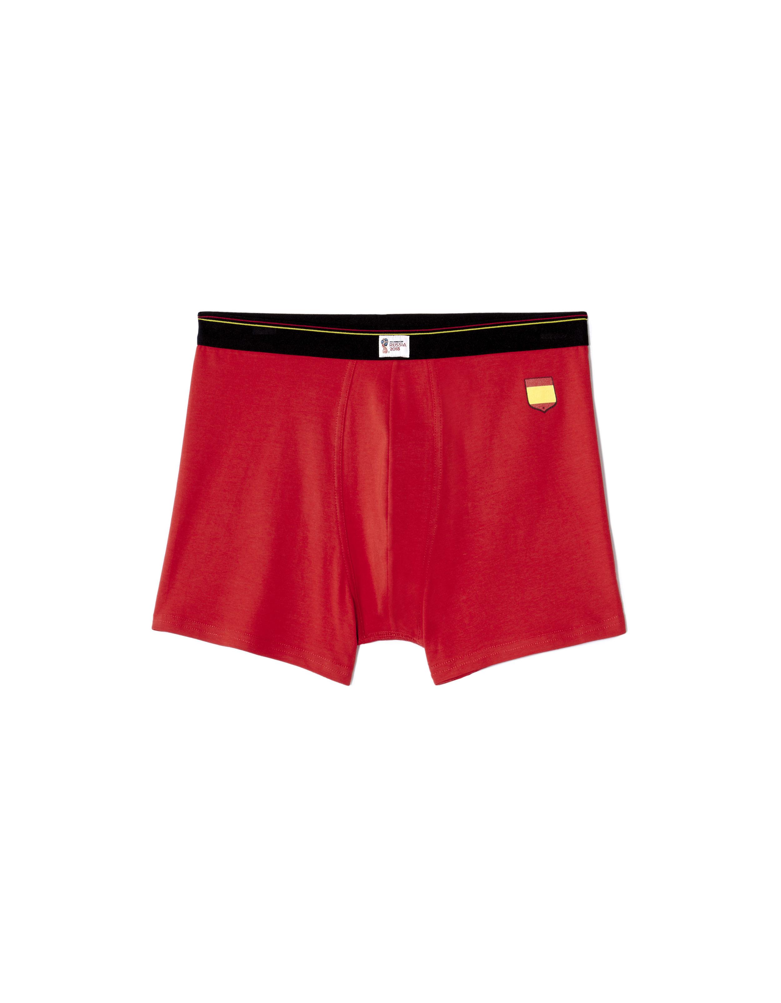 c9718987cbfd CELIO - Boxer homme coloris rouge et ceinture noire - pas cher Achat ...