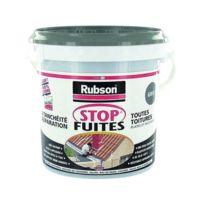 Rubson - Pâte d'étanchéité - stop fuite - revêtement - noir - 1 Kg