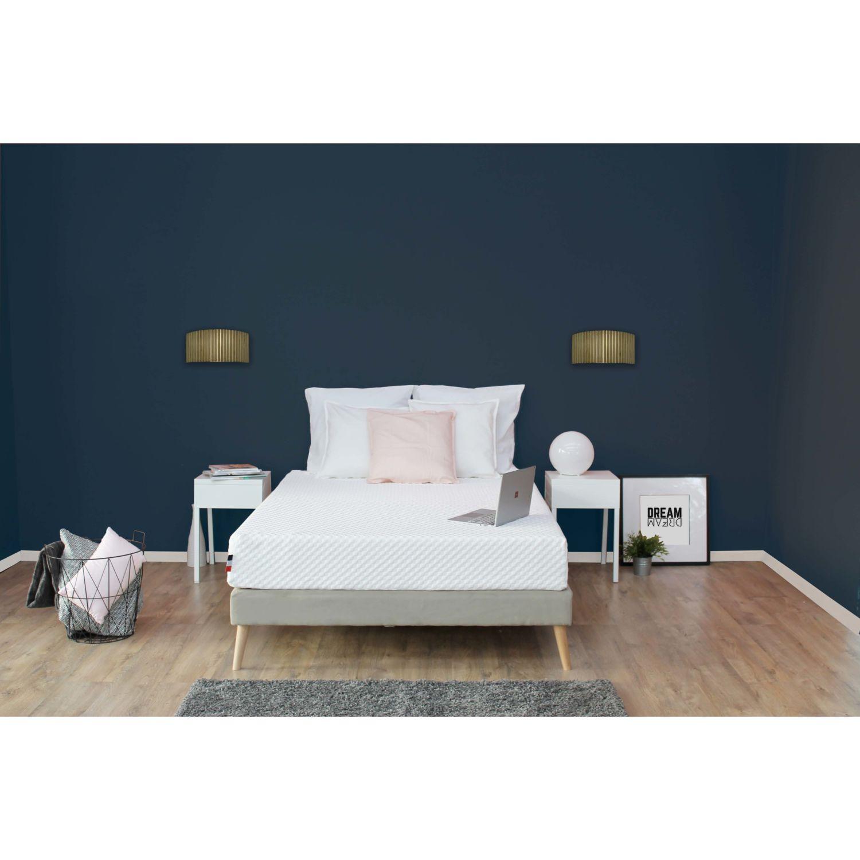 tudor matelas latex m moire de forme hd mousse hr d houssable lavable achat vente. Black Bedroom Furniture Sets. Home Design Ideas