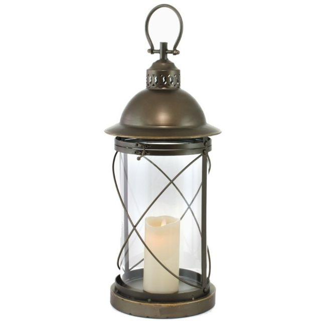 lanterne grand achat vente de lanterne pas cher. Black Bedroom Furniture Sets. Home Design Ideas