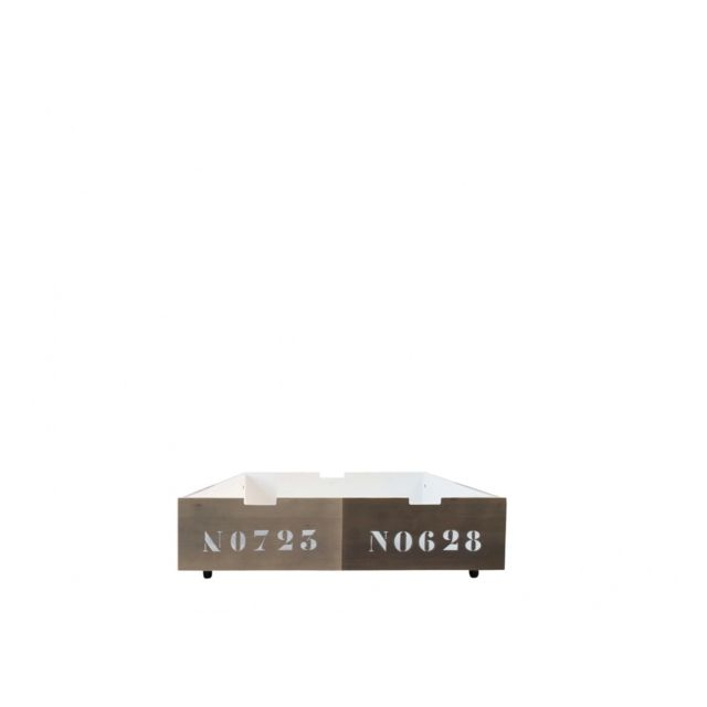 Bopita Tiroir de Lit Basic Wood 90x100