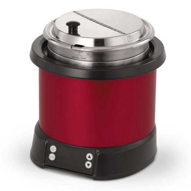 Pujadas Marmite Remise en Température à Induction Mirage® 6,6 L - Plusieurs Couleurs Rouge 660 cl
