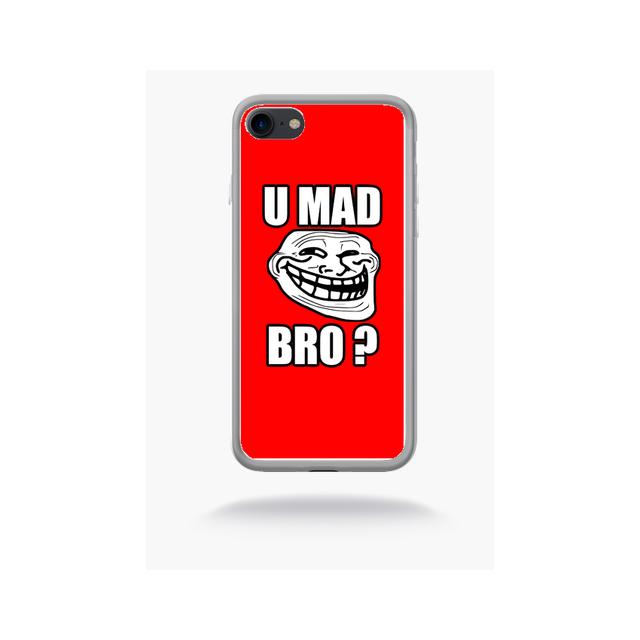 coque iphone 7 rouge mat