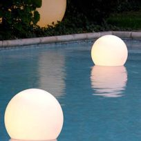 Slide - Acquaglobo - Lampe flottante d'extérieur Ø40cm - Luminaire d'extérieur designé par
