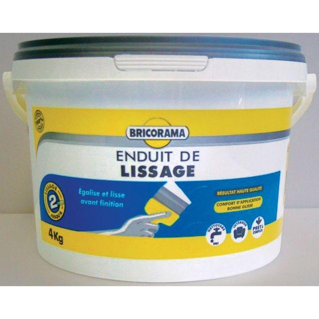 Bricorama Enduit De Lissage En Pate 4 Kg Pas Cher Achat