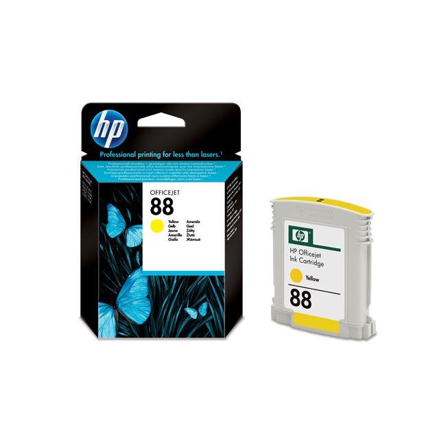 HP C9388AE - Cartouche d'encre 88 Jaune