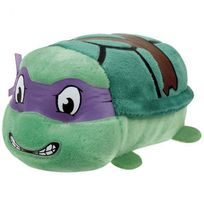 TY - Les Tortues Ninja - Teeny Tys-Peluche Donatello 8 cm