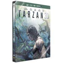 Warner Home Video - Tarzan Steelbook Combo Blu-Ray 3D + 2D + Dvd