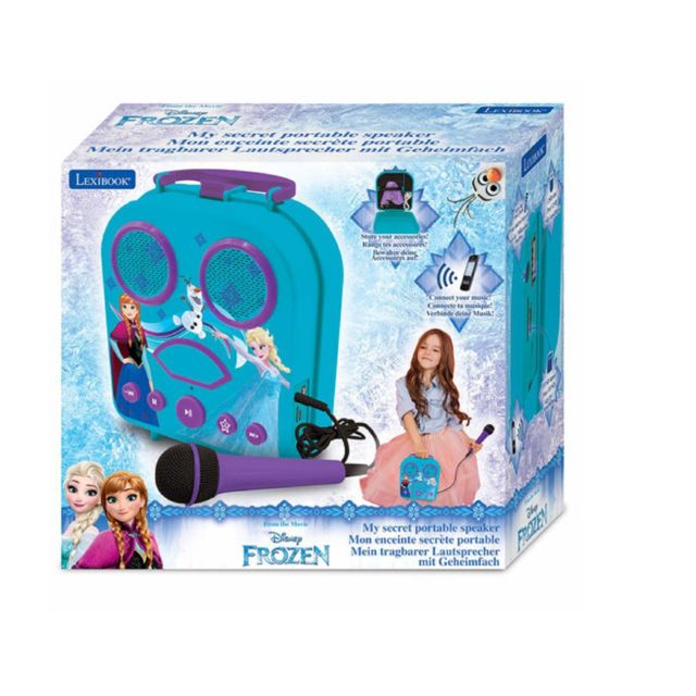 Lexibook Mon karaoké secret portable Disney La Reine des neiges