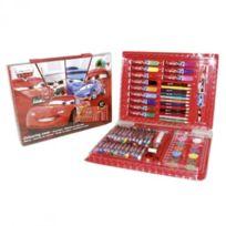 Disney - Vamos - 0004990 - Kit De Loisirs CrÉATIFS - Set De Coloriage - Cars - 67 PiÈCES - 28,5X22X4 Cm