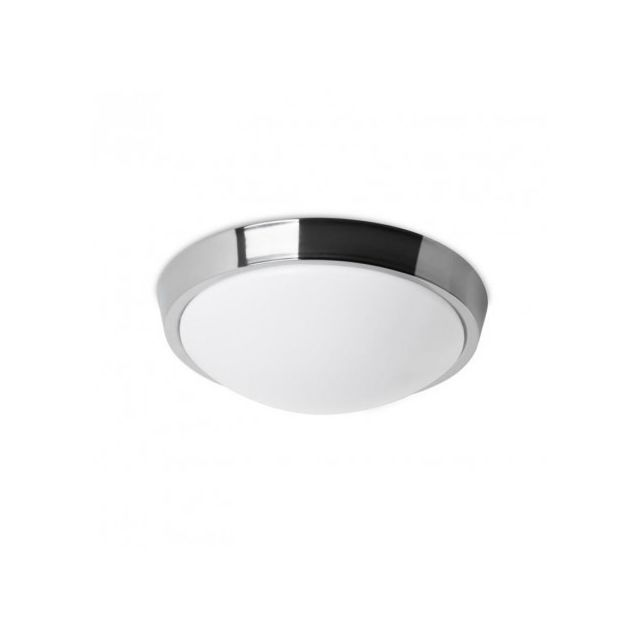 Leds C4 Plafonnier rond salle de bain Bubble Led Ip44 D30 cm - Chrome