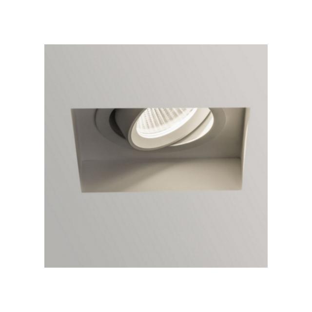 Astro Spot encastrable carré orientable Trimless Led - Blanc
