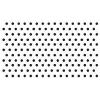 Rayher Hobby - 2871200-TIMBRES En Silicone Transparent, Points 2, DiamÈTRE : 0,3 Cm-sb-karte 176 ÉLÉMENTS