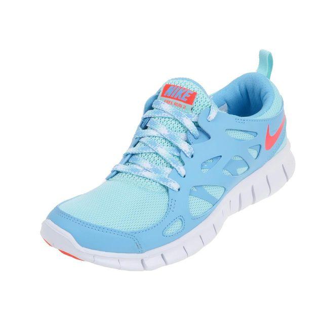 Nike - Chaussures mode ville Free run bleu f Bleu 46403 37 1 2 - pas cher  Achat   Vente Chaussures, chaussons - RueDuCommerce 9acd9e431e8c