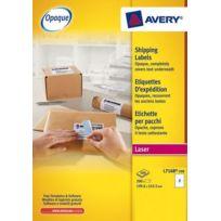 Avery - Etiquettes adresses laser 199,6 x 143,5 mm L7168-100 - Boîte de 200
