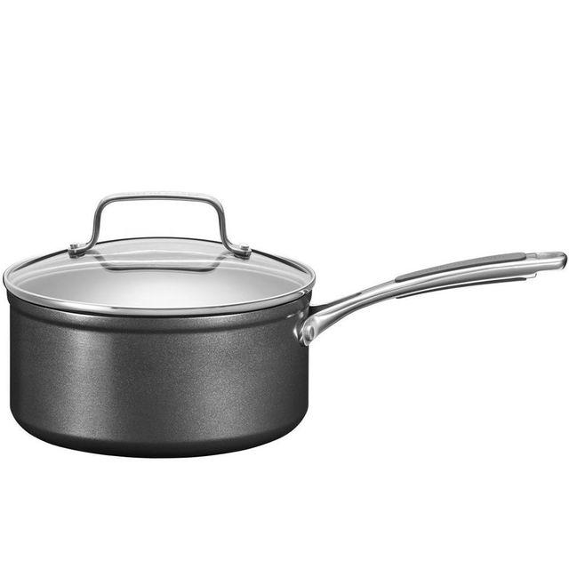KITCHENAID casserole anti-adhésif 18cm avec couvercle verre - kc2h130plkd