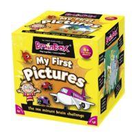 Green Board Games - Brainbox My First Pictures - Jeu De SociÉTÉ