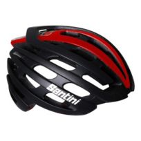 Lazer - Casque Z1 Santini Light Road noir rouge