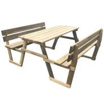 89dd591d412 Table pique nique en bois - Achat Table pique nique en bois pas cher ...