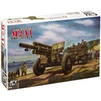 Afv Club Maquettes et Accessoires - Afv Club 35160 M2A1 105MM Howitzer 1:35 Plastic Kit Maquette