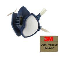 3M - Demi-masque de protection 4251