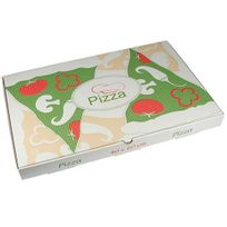 """Papstar - 50 Boîtes à Pizza en cellulose """"pure"""" rectangulaire 40 cm x 60 cm x 5 cm - 84695"""