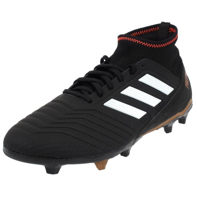 cheap for discount dcbc8 c041e Adidas - Chaussures football lamelles Predator 18.3 fg cblack Gris 76478
