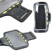 Duragadget - Brassard de sport avec Led pour smartphone, Mp3/MP4 – 15 cm x 8 cm
