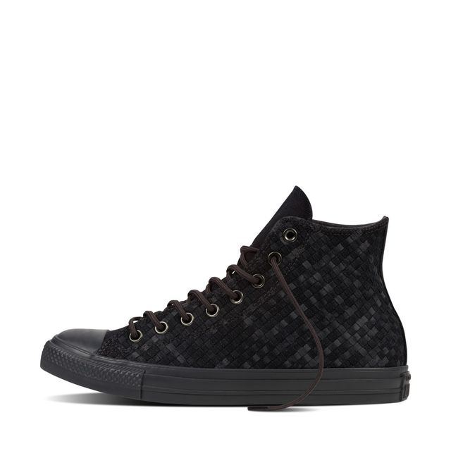 3aa1fa1034492 Converse - Basket All Star Ct Hi Denim Woven - Ref. 153935C - pas cher Achat    Vente Baskets homme - RueDuCommerce