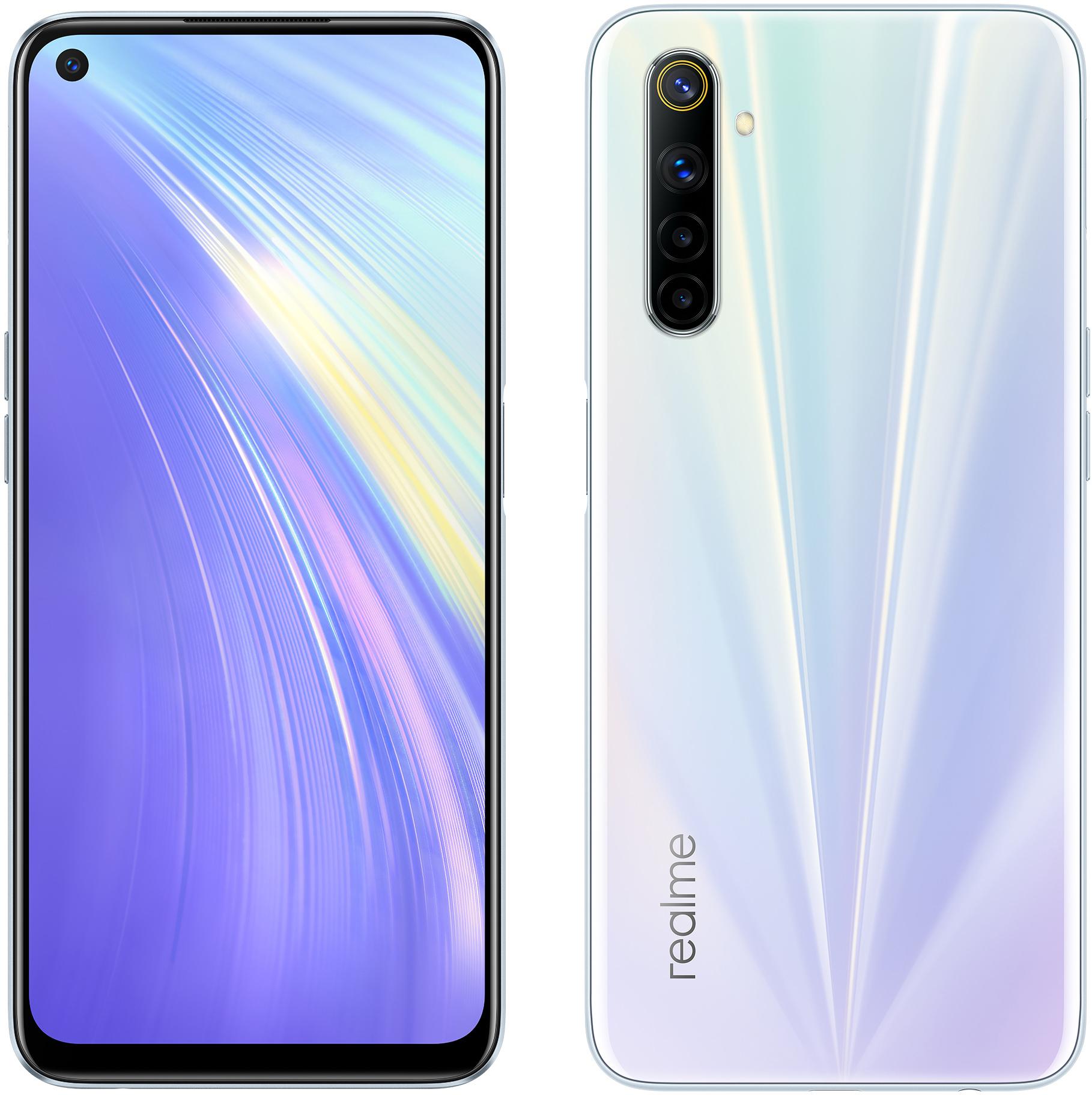 Smartphone 6 Realme Blanc