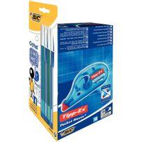 Tipp-ex - ruban correcteur pocket mouse 4.2mm x 10m + 8 stylos bille cristal like me - boite de 10